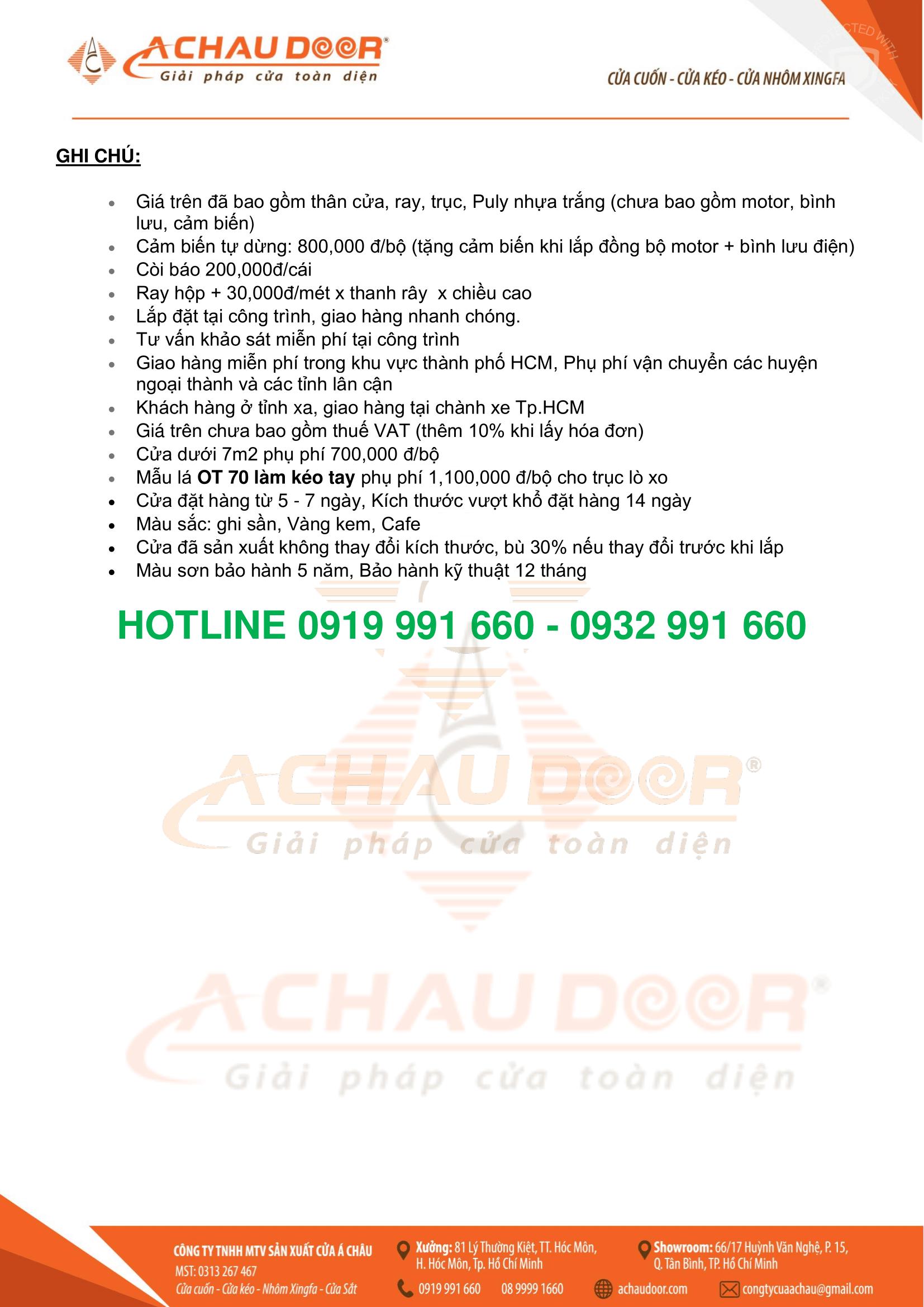 giá cửa cuốn Đức CT5222
