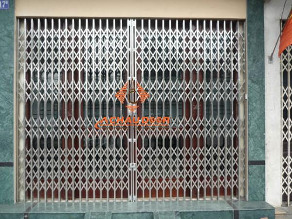 cửa kéo inox 340 không lá u 6 dem