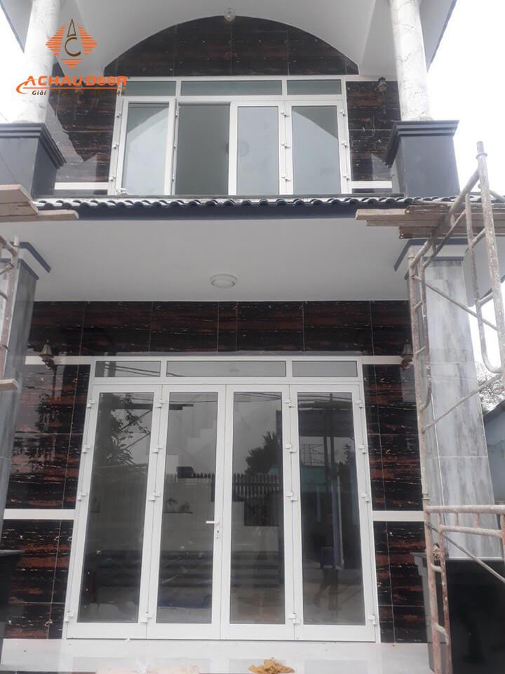Công trình hoàn thiện cửa nhôm xingfa nhà anh Thiện