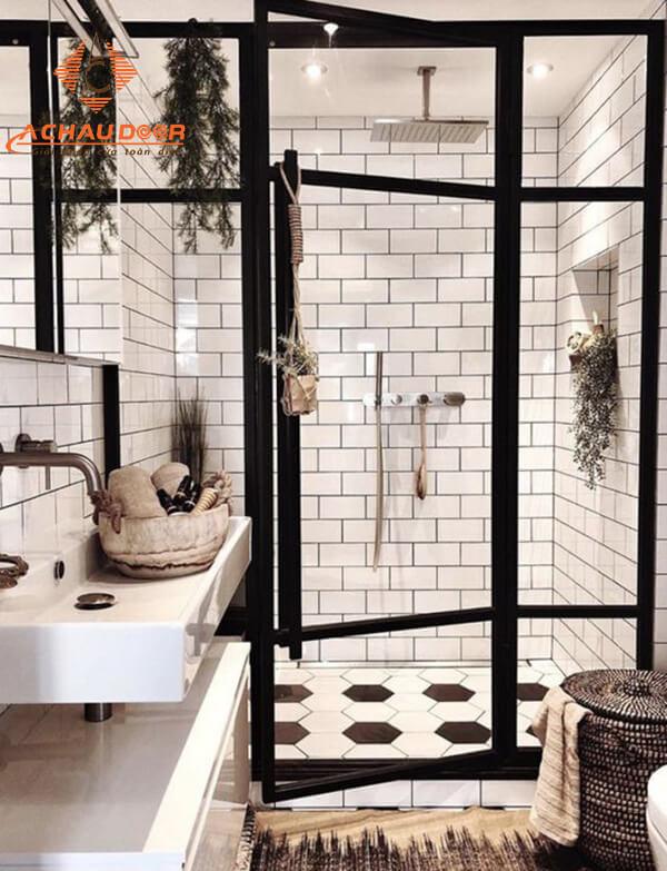 mẫu cửa cho phòng tắm