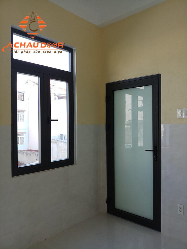 Cửa sổ và cửa thông phòng nhôm kính Xingfa cao cấp