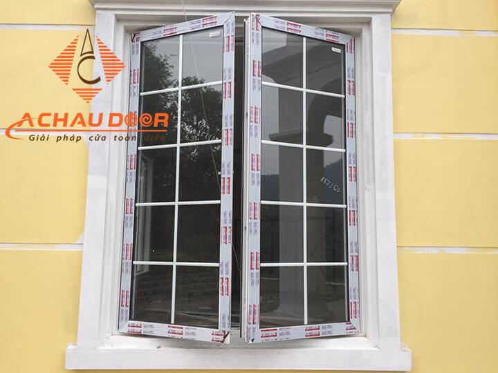Lắp đặt cửa sổ 2 cánh mở quay nhôm Xingfa nhập khẩu