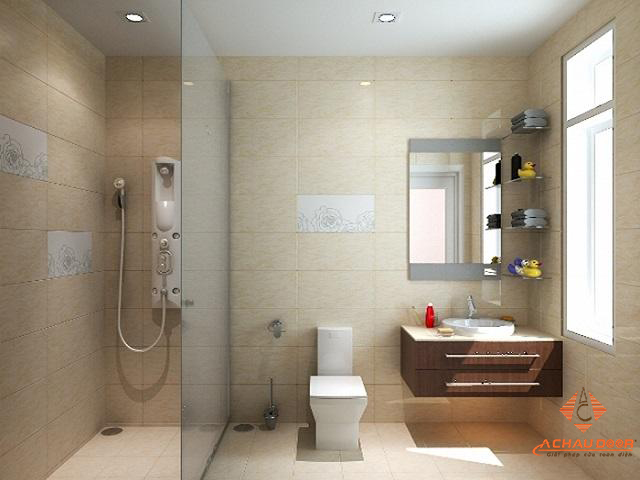 Mẫu thiết kế nhà vệ sinh theo thông số chuẩn