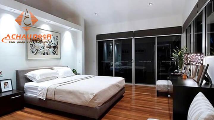 Vách ngăn nhôm Xingfa cho phòng ngủ thêm đẹp và sang trọng